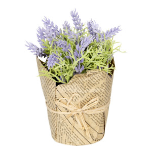 Lavanda artificiala in ghiveci 16 cm