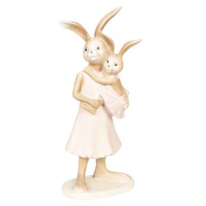 Figurina Iepuras Paste polirasina 11 cm x 26 cm