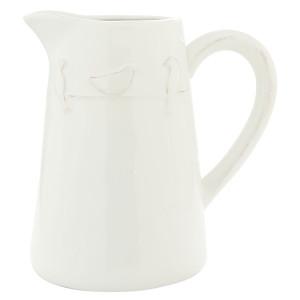 Carafa ceramica alba Bird 19*14*20 cm