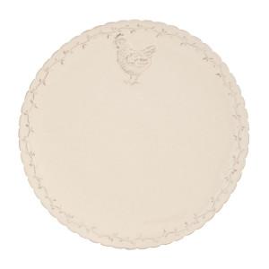 Farfurie din ceramica crem Ø 26 cm