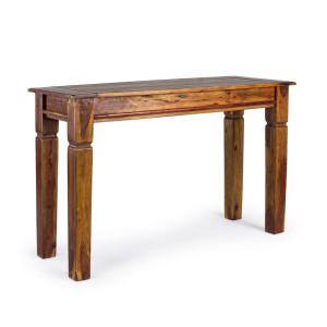 Consola lemn natur Chateaux 120 cm x 45 cm x 78 h