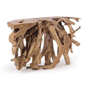 Consola lemn natur Solidad 120 cm x 40 cm x 77 h