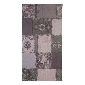 Covoras verde textil pentru baie Baltimora 90 cm x 60 cm