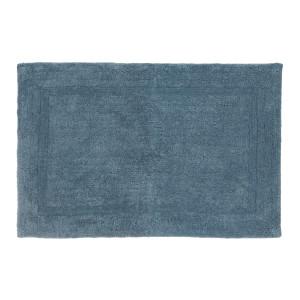 Covoras albastru textil pentru baie Miami 60cmx90h