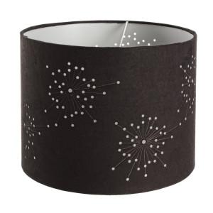 Abajur textil negru Spagna Ø 30 cm x 24 h