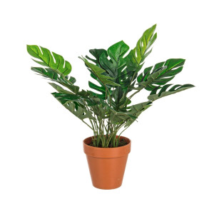 Floare artificiala in ghiveci Philodendron 30 cm x 45h