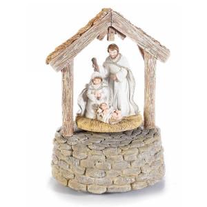 Carusel muzical din polirasina Figurine Religioase 12 cm x 11 cm x 16.5 h