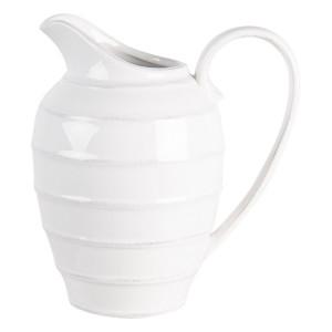 Carafa din ceramica alba