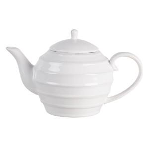 Ceainic din ceramica alba