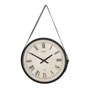 Ceas de perete din metal maro Paris Ø 42 cm x 4 cm