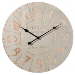 Ceas de perete gri natur model Antiquite Ø 60 cm