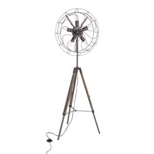 Lampadar metal cu picioare lemn Air 69 cm x 56 cm x 167 h