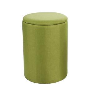 Cos rufe rotund verde Katya Ø 38 cm x 53 h