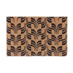 Covoras intrare casa antiderapant fibre cocos natur cauciuc Lex 60 cm x 40 cm