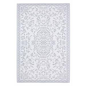 Covor textil alb gri Ansedonia 180 cm x 120 cm