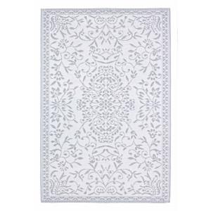 Covor din polipropilena alb gri Ansedonia 150 cm x 210 cm