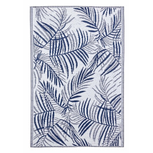 Covor textil gri albastru Fern 180 cm x 120 cm