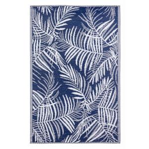 Covor textil albastru gri Fern 180 cm x 120 cm