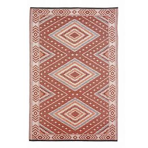 Covoras textil rosu crem Ethnic 150 cm x 210 cm