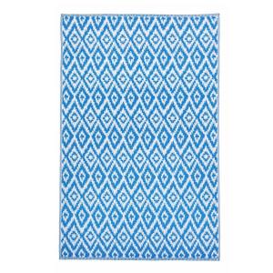 Covor polipropilena model romburi albastre Rhombus 180 cm x 120 cm