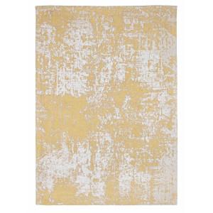 Covor din bumbac alb galben Grafitti 230 cm x 160 cm