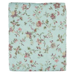 Cuvertura de pat din poliester matlasat decor Floral 240 cm x 260 cm
