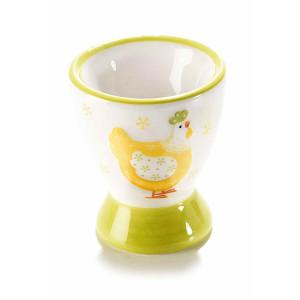 Suport ou din ceramica Gaina 5,5 cm x 6,5 h