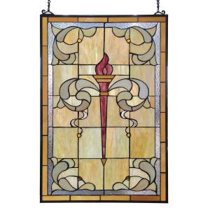 Vitraliu de perete din sticla Tiffany 50 cm x 78 h