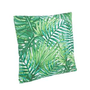 Perna decorativa din textil alb verde Evergreen 40 cm x 40 cm