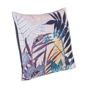 Perna decorativa din catifea Jungle 45 cm x 45 cm