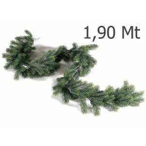 Ghirlanda de brad artificial verde 190 cm