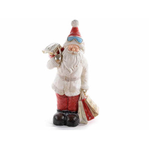 Figurina Mos Craciun din ceramica 51x31x90 cm