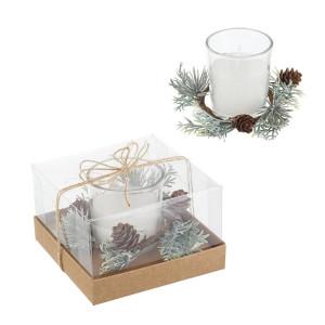 Lumanare parfumata in cutie cadou 11x11x7 cm