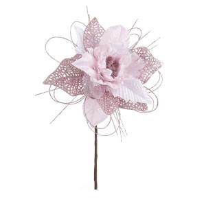 Craciunita artificiala roz Ø 16x20 cm