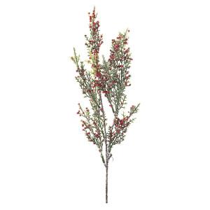 Crenguta artificiala cu fructe de padure rosii Judie 45 cm