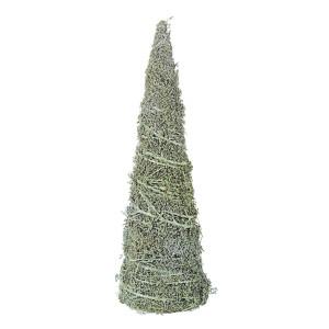 Brad din fibre naturale verzi Forest Ø 12x40 cm