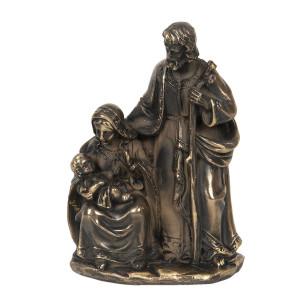 Figurine religioase din polirasina maro cu patina aurie 13 cm x 8 cm x 19 h