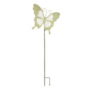 Decoratiune de gradina din metal verde 39 cm x 6 cm x 109 h
