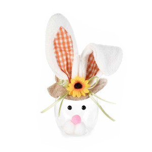 Borcan Paste model Iepuras urechi portocaliu 9 cm x 23H