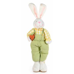 Figurina Iepuras Paste Boy textil cm 19 cm x 67H