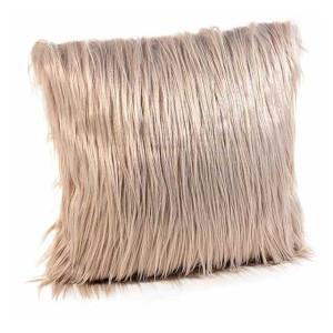 Perna decorativa din textil maro 40x40 cm