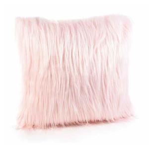 Perna decorativa din textil roz 40x40 cm