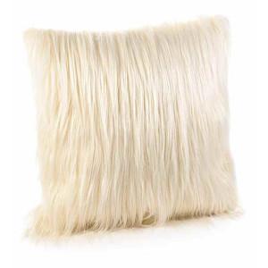 Perna decorativa din textil crem 40x40 cm