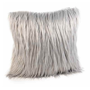 Perna decorativa din textil bej 40x40 cm