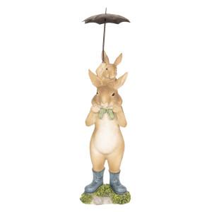 Figurina Iepurasi Paste polirasina 8 cm x 7 cm x 25 cm