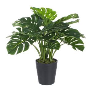 Planta artificiala Philodendron 24 frunze 60 cm x 60 cm x 65 h
