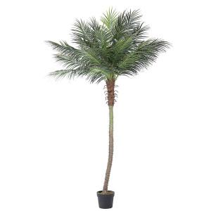 Palmier artificial Cycas cu 21 frunze in ghiveci 300 h