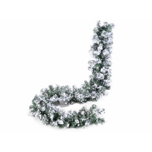 Ghirlanda brad artificial verde ninsa 200 cm