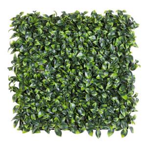 Panou plante artificiale verzi 50 cm x 50 cm