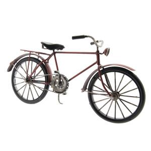 Macheta Bicicleta Retro din metal 29 cm x 10 cm x 16 h